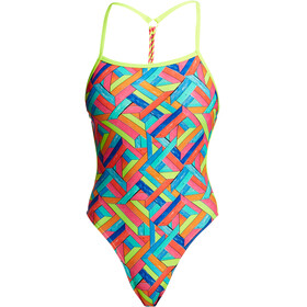 Funkita Twisted One Piece Badpak Dames bont